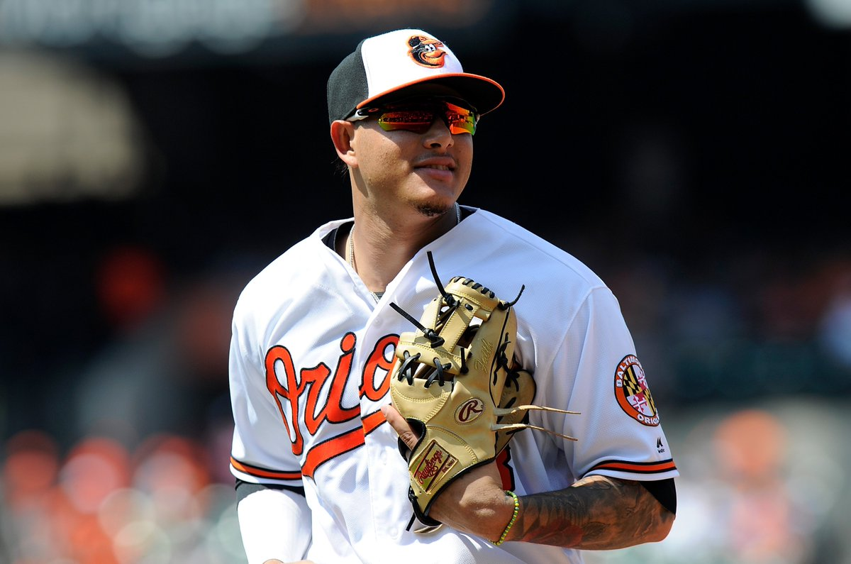 BREAKING: Manny Machado is heading to the Dodgers in exchange for five prospects, per multiple reports.