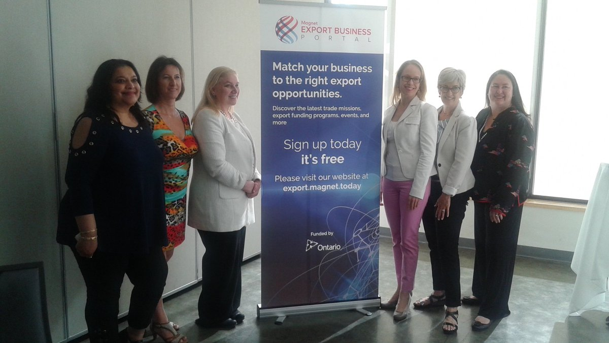 test Twitter Media - Great panel discussion about what it means to export as a woman-owned business today with @SuzDrisdelle @Agrawal_ani @CEOVazquez,Gwenaele Montagner and Katy Baker  @MagnetExport @CanadaTrade @OWITintl https://t.co/gxE01nEt8p