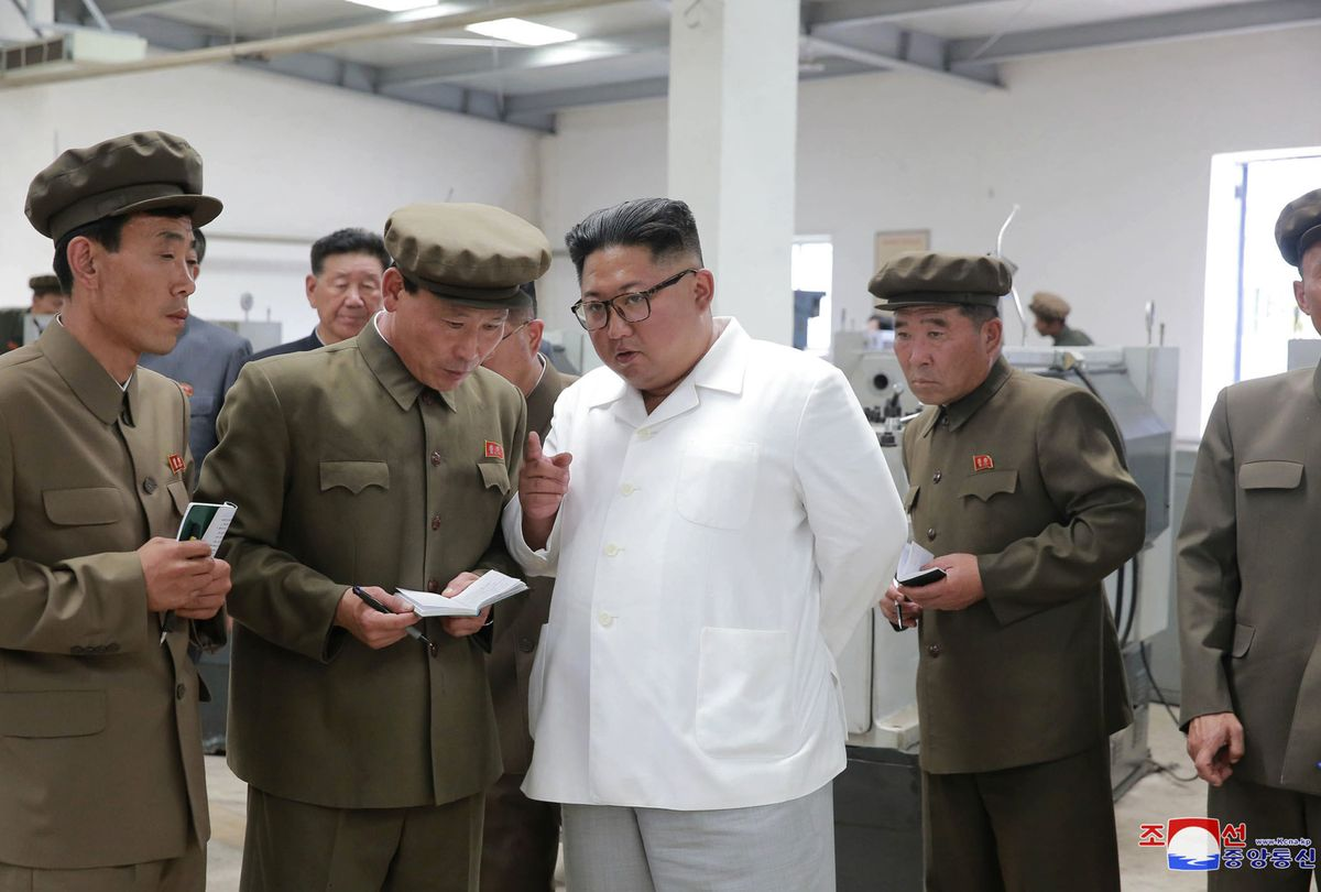 Kim Jong Un's testy factory trips highlight his push to fix North Korea's economy https://t.co/Zd1HrElQhH