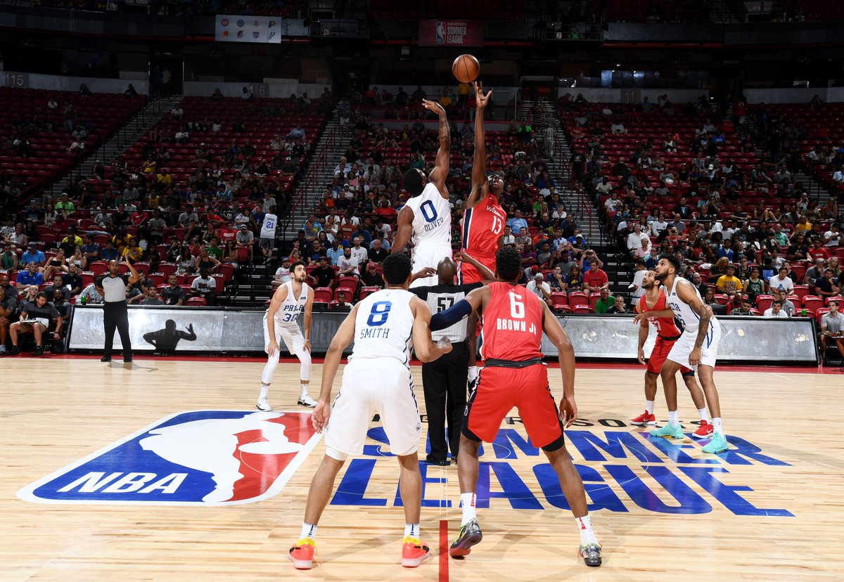 82 games over 12 days.  #NBASummer brings out the very best competition. Practicing mindfulness, yoga, and meditation can all positively impact mental well-being, and in turn, positively impact your game. Train the mind. The body will follow. Welcome to the league. @KPShare