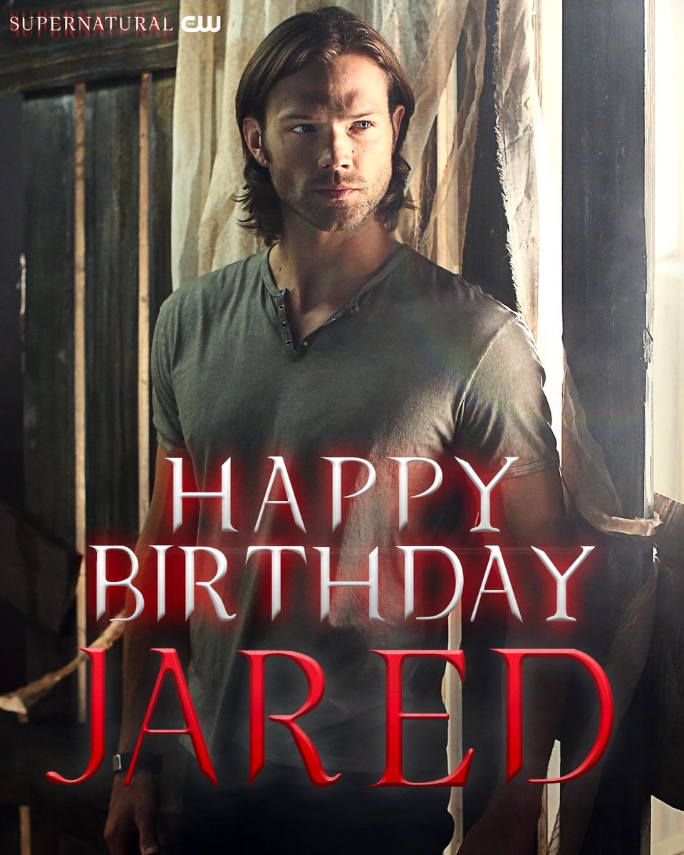 Happy Birthday, @jarpad ! #Supernatural