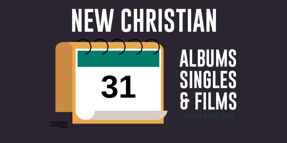 Check out all the new Christian albums, singles, and films from June 2018. hubs.ly/H0d3rbB0
