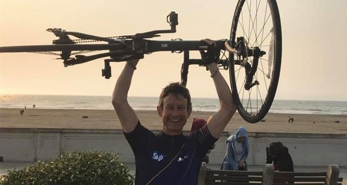 test Twitter Media - After losing his mom in 2011, this SAP exec vowed to raise $1 million in donations to fight lung cancer.   With a global cycling campaign, @Ride4Lungs is on the move to reach his goal: https://t.co/13b66B7WPi https://t.co/oXmr0ZD7t9