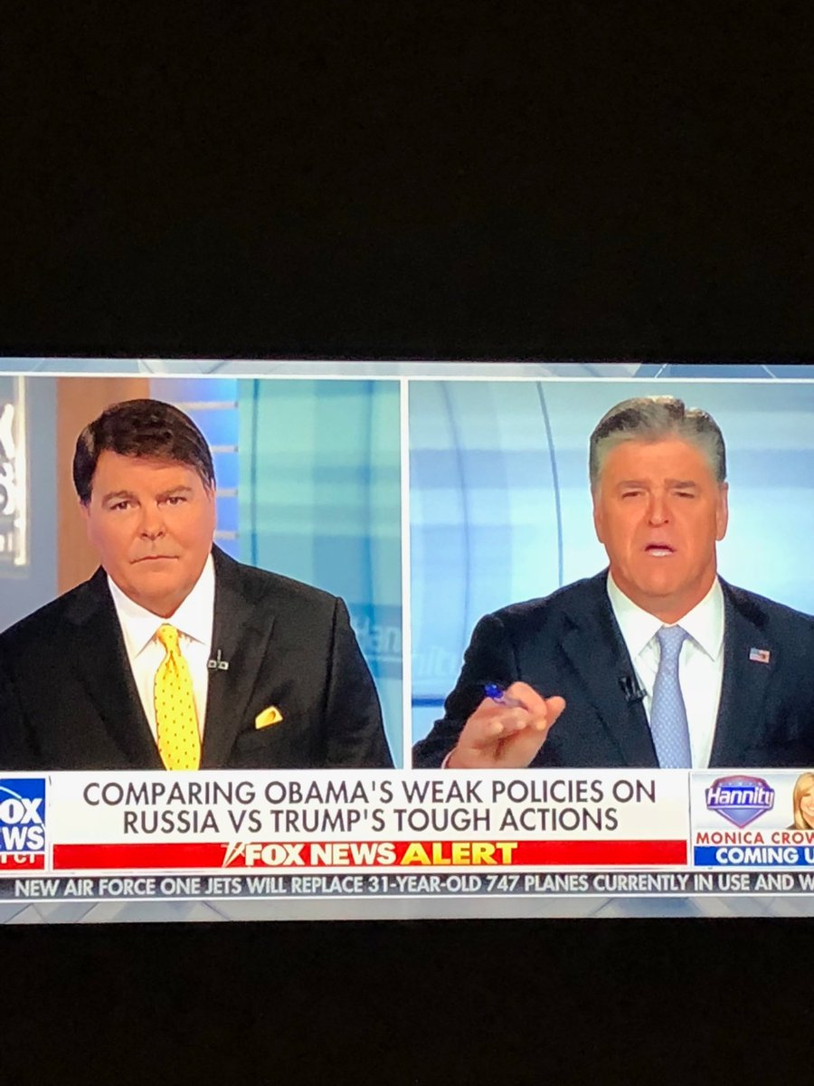 In my attempt to understand Fox News watchers, I tuned into these two and actually thought the guy on the left was Sean Hannity, backwards.