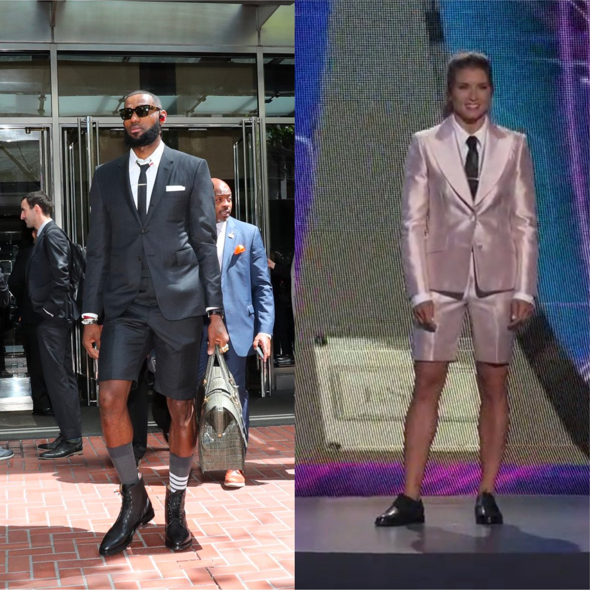 Who wore it better 👀 #ESPYS