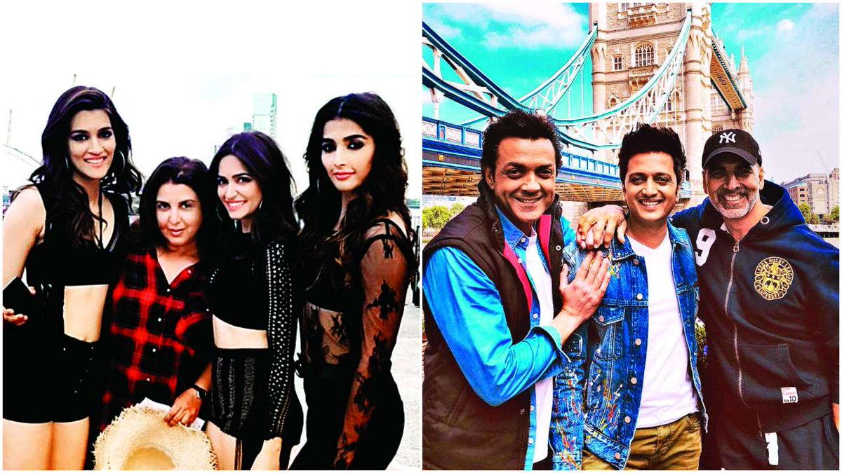 Housefull 4 song shot in the same palace as Kabhi Khushi Kabhie Gham, Details out! https://t.co/f6aCXwxdUD