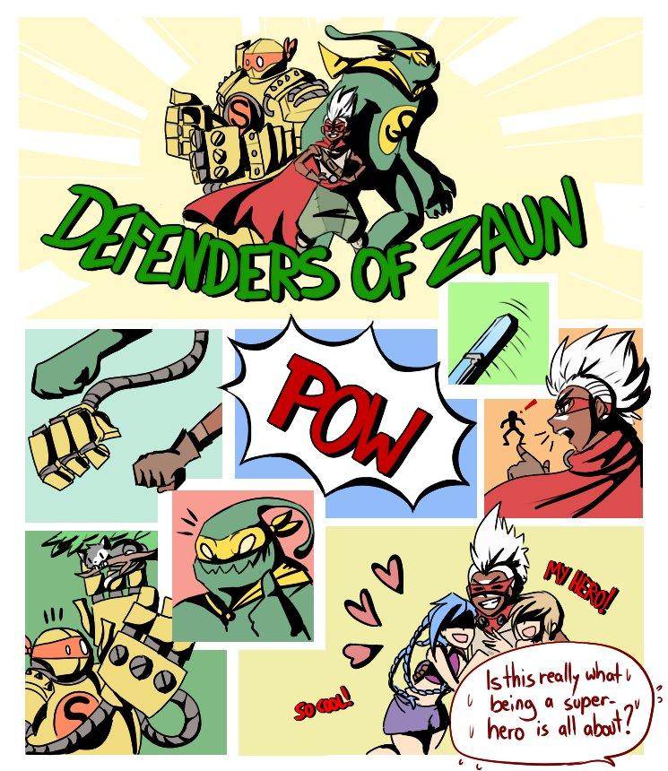 Shenpai On Twitter Defenders Of Zaun A Small Leagueoflegends