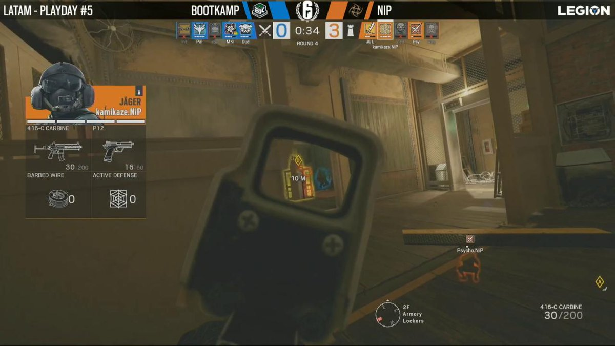 Image for the Tweet beginning: What a shot @kamikazeR6S! #R6PL