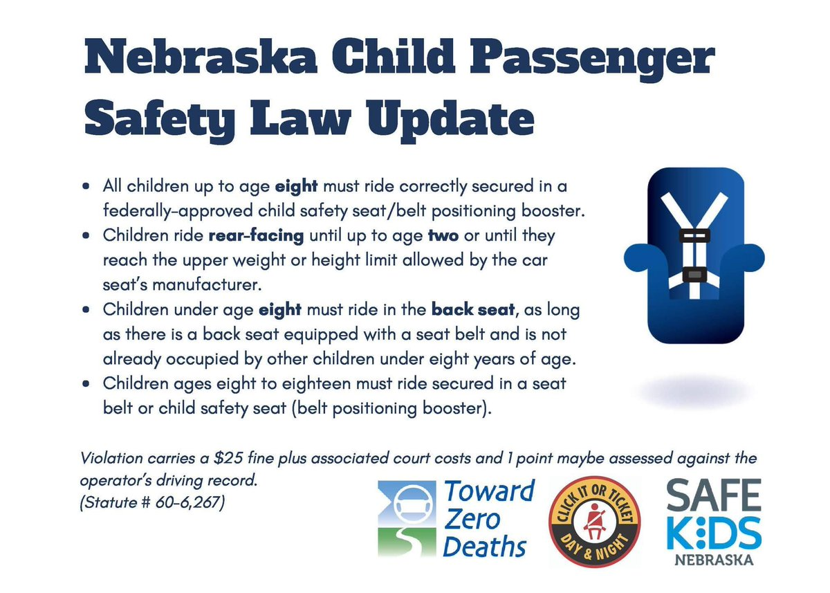 Stop By A Safekids Car Seat Checkup Or Give Us Call ClickItOrTicket SafetyIsNoAccidentpictwitter PAuqFl2rDR