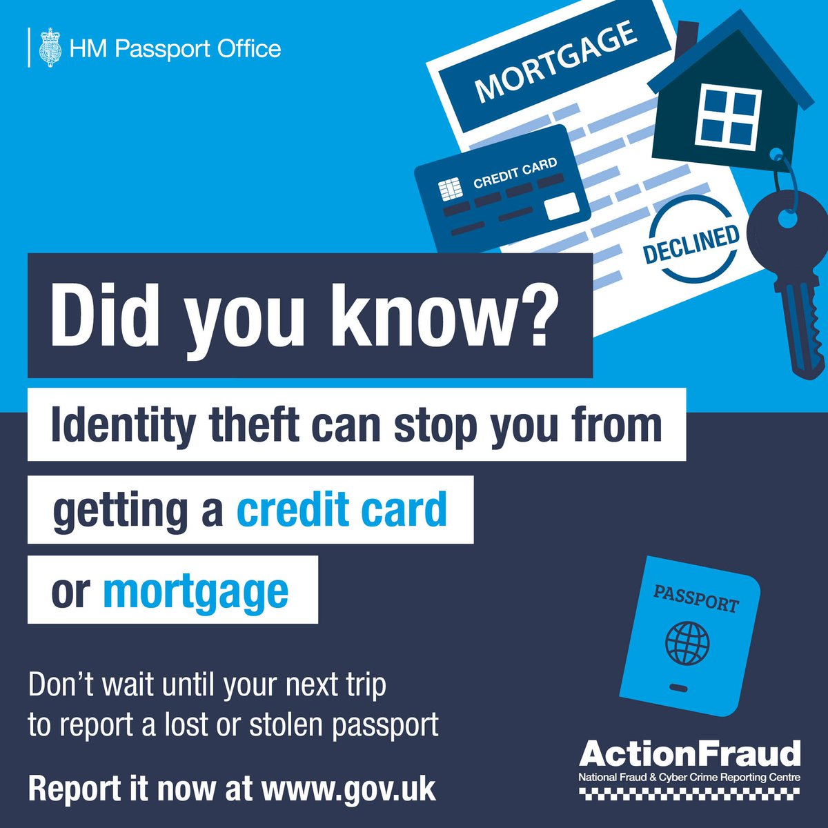 Police Scotland Safer Communities On Twitter Great Wee Bit Of Advice From Actionfrauduk Don T Put Your Identity At Risk Report A Lost Or Stolen Passport Victim Of Identity Crime Act Quickly