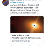 #FakeScience Twitter Photo