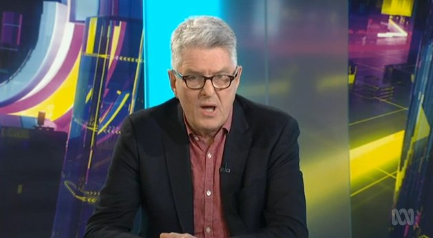 """""""One of the principle freedoms that the churches are insisting on is their right, to decide employment on the basis of sexuality. In other words, the freedom to continue to discriminate against people like me."""" @DavidMarrTweets on religious freedoms #auspol #TheDrum Photo"""