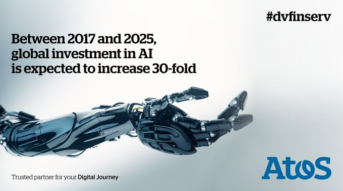 #AI is rising up the agenda for financial  services because of its huge impact...