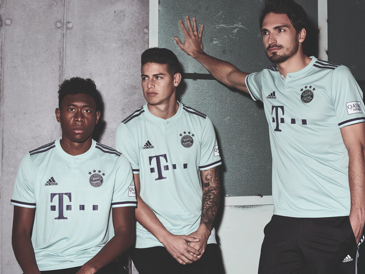 Maillot extérieur du Bayern