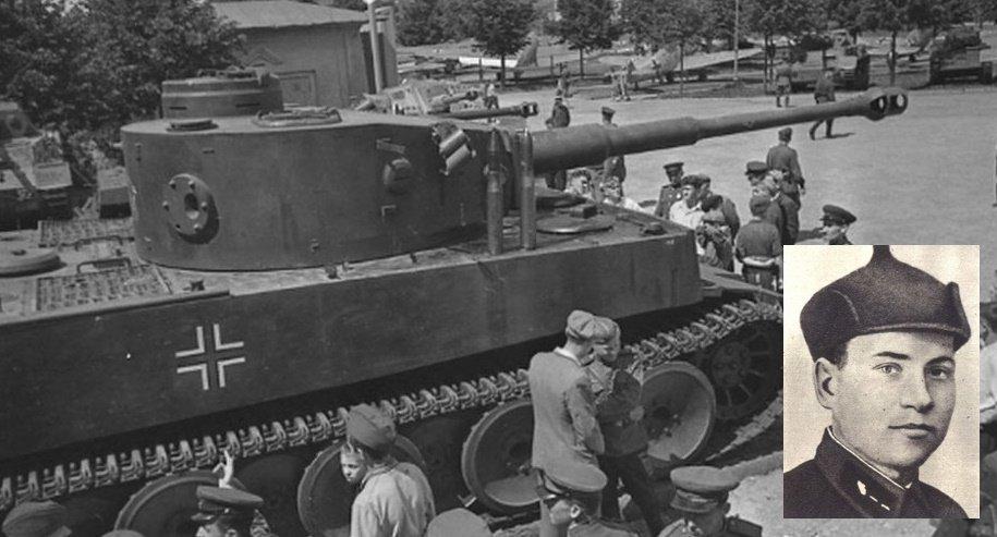 19 июля 1943 года в боях за Изотово старший сержант Иван Трубин подбил тяжелый танк «Тигр» из 45-мм пушки легкого танка Т-70 и заставил отступать 2 других «Тигра». Подбитый «Тигр» доставили в Москву на выставку трофейного оружия в парке Горького  #КурскаяБитва_75