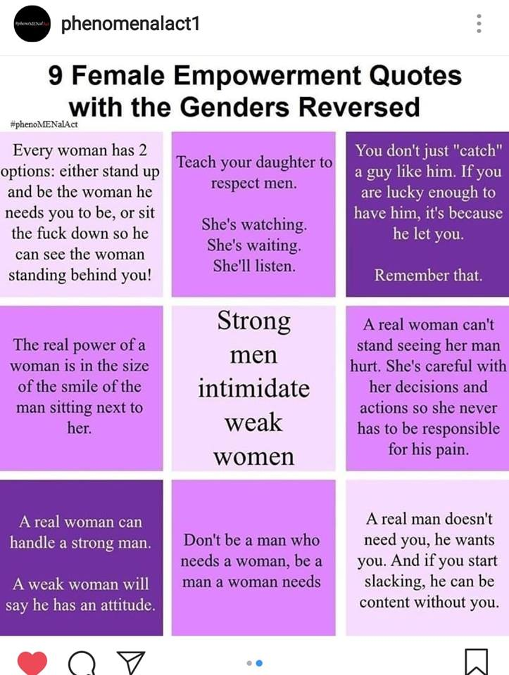 Feminist Quotes Ronin Man on Twitter: