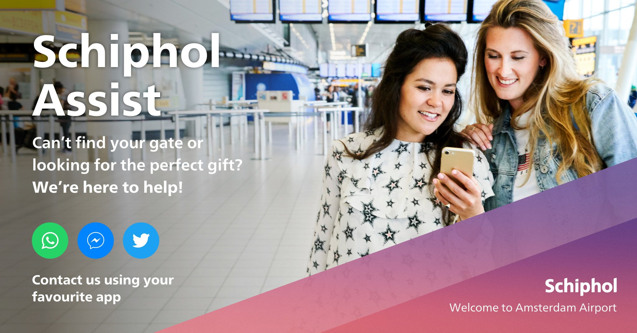 Schiphol On Twitter Do You Travel To From Or Via Schiphol These