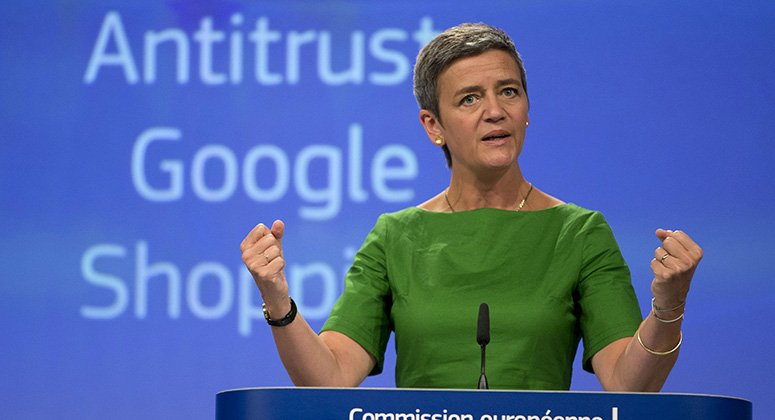 Google hit with record $5b EU antitrust fine. Fined for using its Android mobile operating system to squeeze out rivals..Read more: http://partechglobal.com/google-hit-with-record-5b-eu-antitrust-fine/ …   #IT #Technology #ITDubai #ITservices #website #SEO #Microsoft #office365 #design #development #Apple, #Android #Googlepic.twitter.com/uHMWpo8EV5