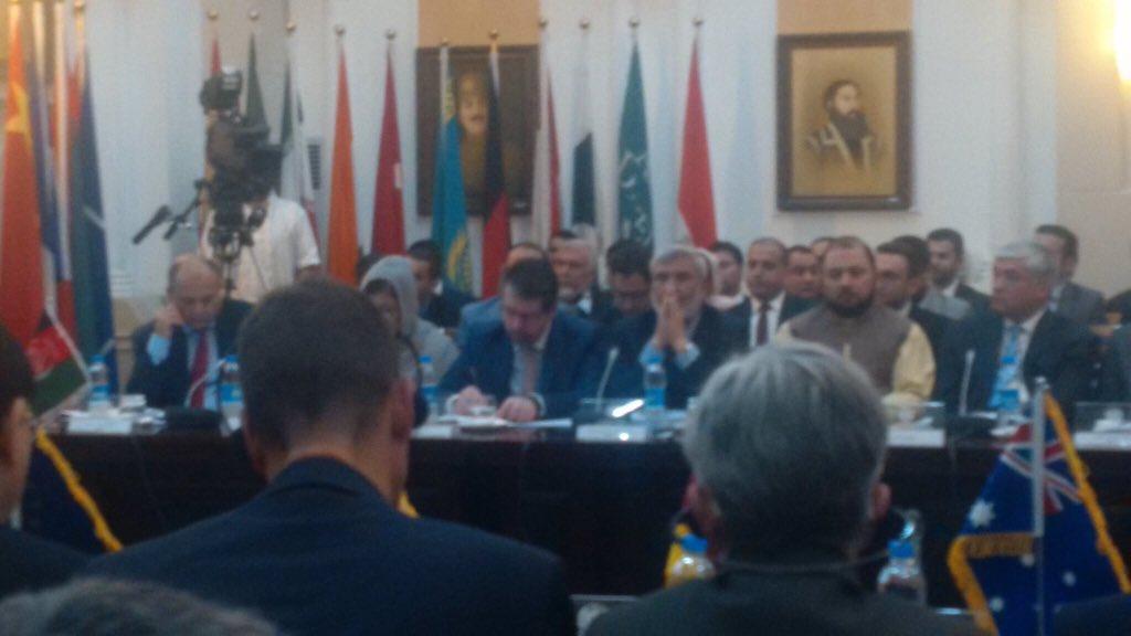 """""""آموزش پولیس آلمان #GPPT و اکادمی پولیس ملی افغانستان #ANPA تعداد زنان را در سکتور امنیتی به طور قابل توجهی افزایش خواهد داد."""" #سفیرآلمان والتر هاسمن در جلسه بورد مشترک نظارت و انسجام #JCMB"""