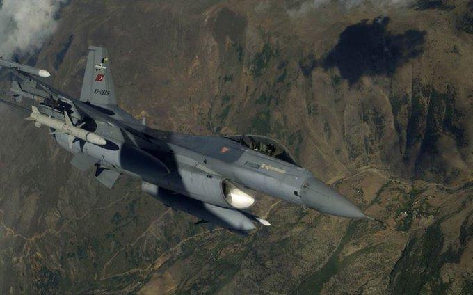 Irak kuzeyi Kandil ile Şırnak/Uludere ve Siirt/Eruh bölgelerine 17-18-19 Temmuz 2018 tarihinde icra edilen hava harekâtları neticesinde, bölücü terör örgütü mensubu toplam dokuz silahlı terörist etkisiz hale getirilmiştir. Photo