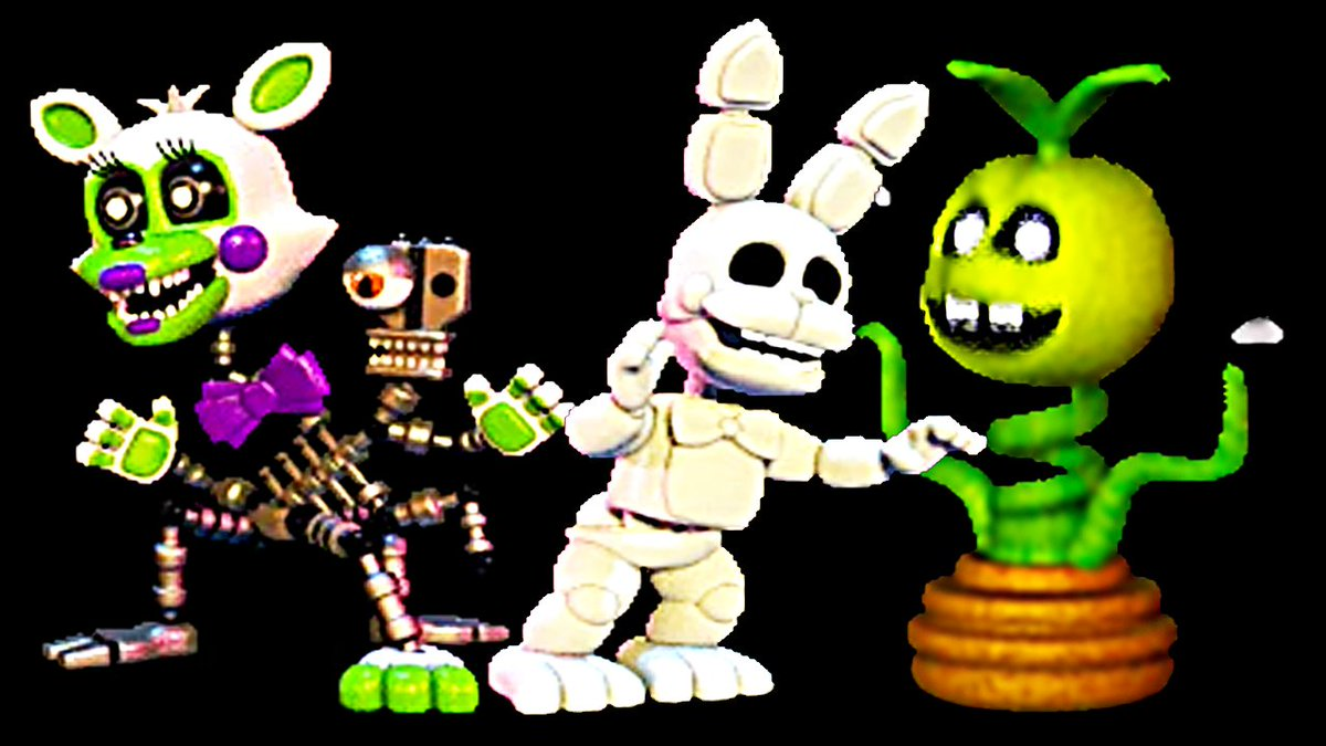 jessicasophyvio UCN FNAF – World Characters – (Tangle