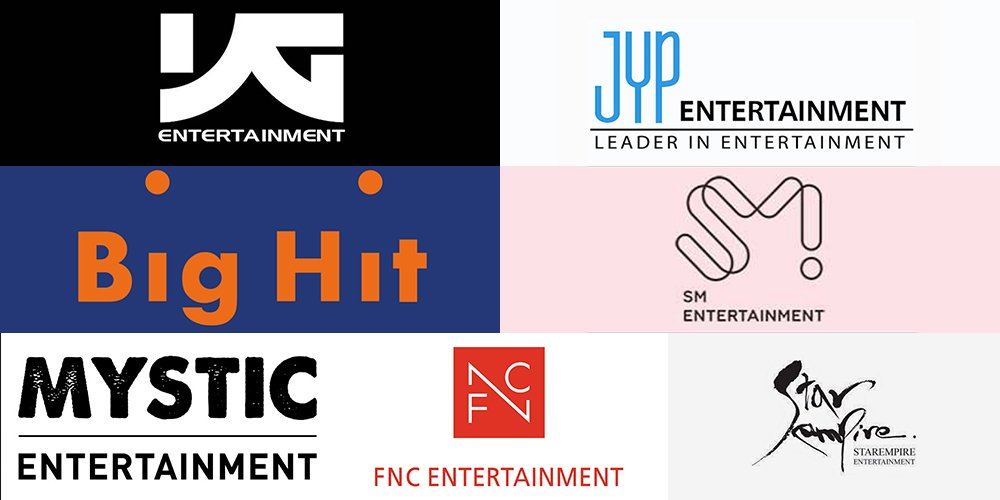 Big Hit, SM, YG, JYP, FNC, Mystic, and Star Empire found new company for K-pop MV distribution https://t.co/iAZYNOEfkF