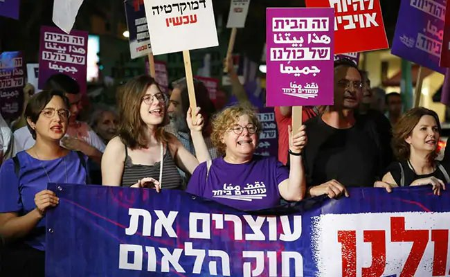 #Israel adopts controversial Jewish nation-state law https://t.co/jGJgP2bpLz