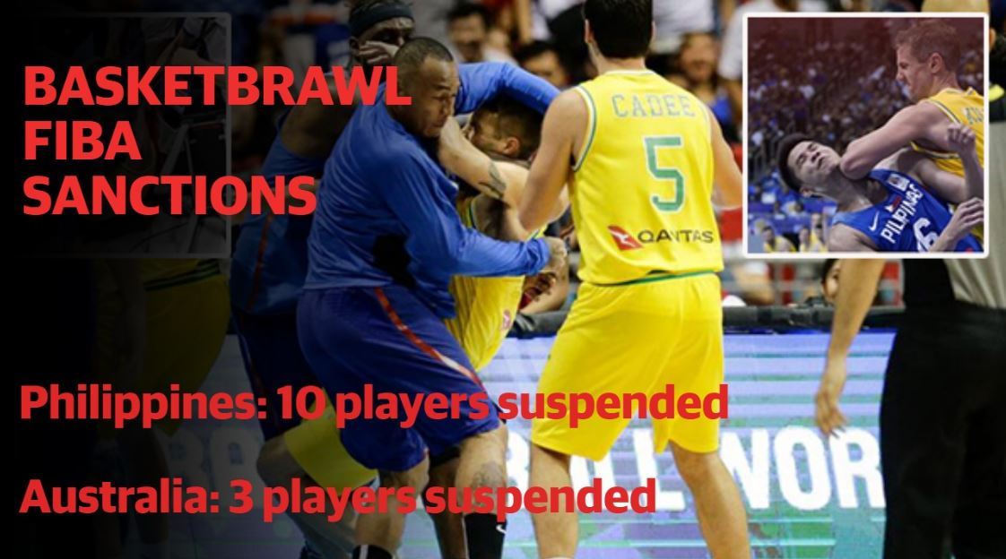 #BREAKING ... The verdict is in.  #FIBA issues sanctions from the #Boomers' #basketbrawl with the #Philippines earlier this month. And there's some big ones.  DETAILS: https://t.co/8S8oCGxQgY