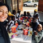 We had a great time yesterday at Malerato Centre of Hope in Mamelodi for #MandelaDay2018 Standing together makes a difference! @ririnel your heart and passion is contagious! Thank you!
