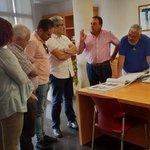 Image for the Tweet beginning: [#CanariasconFuturo]  En Alajeró, nos recibe
