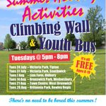 Image for the Tweet beginning: Sandwell's Youth Bus and Climbing