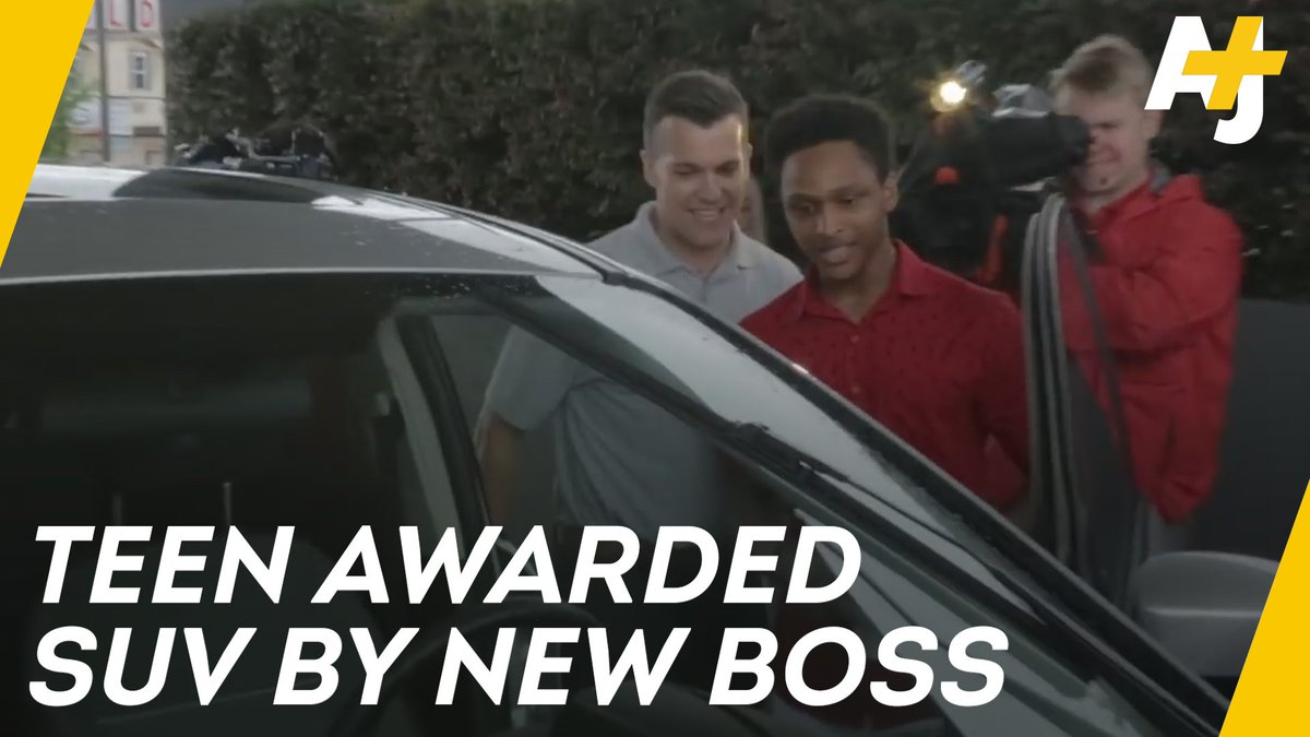 This teen walked 20 miles to work after his car broke down. The CEO was so touched that he gave him his own car.