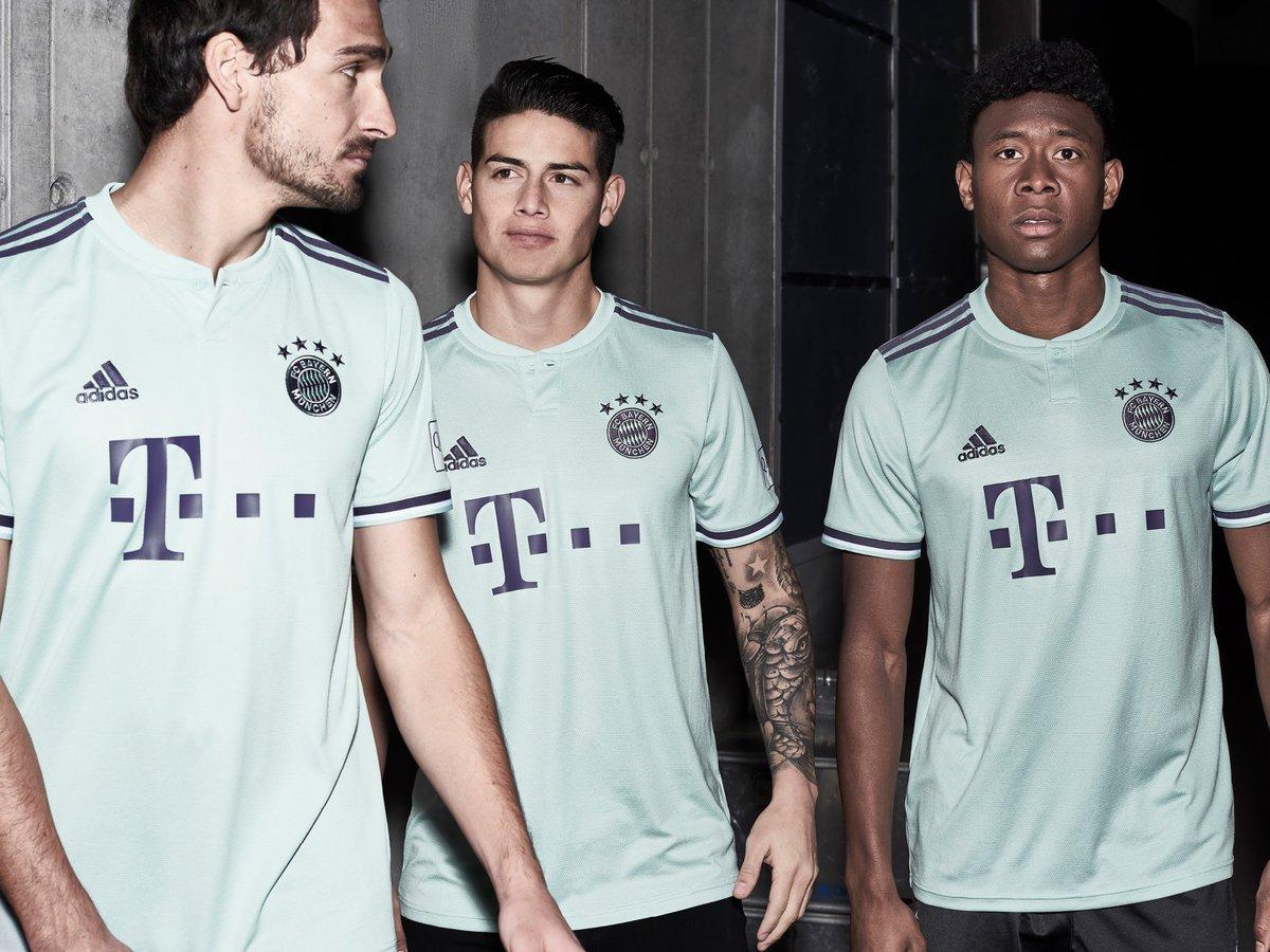 Bayern Munich release their new 2018/19 away kit!