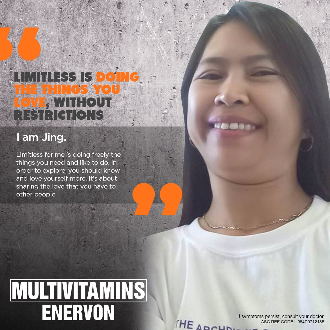 Jing is able to do the things she loves to do without restrictions. This is her #Limitless story. How about you? Tell us in the comments section. ASC REF CODE U084P071218E https://t.co/0DKJUD0QCa