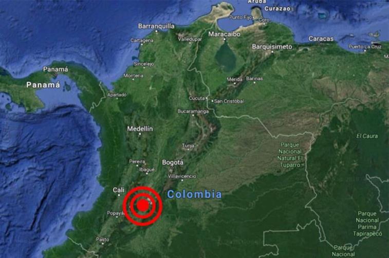 Un sismo de 5,2 grados sacudió el centro de Colombia sin víctimas ni daños https://t.co/RAVILIKFP1