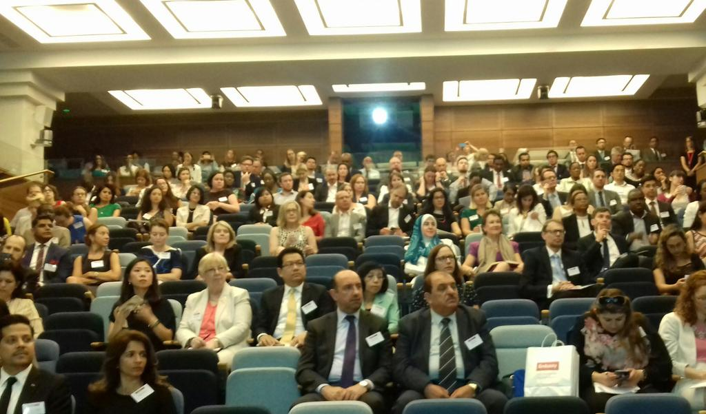 test Twitter Media - Thanks to all who attended our Embassy Education Conference. Stimulating talks on the value of education diplomacy https://t.co/9K044NoZ9K