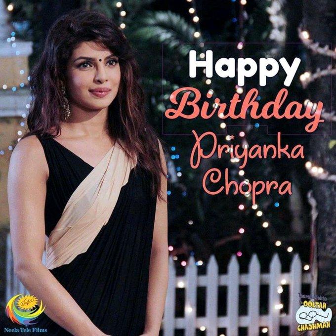 Wish you many many Happy return\s of the day priyanka chopra 36th birthday Bollywood & Hollywood Celebrity