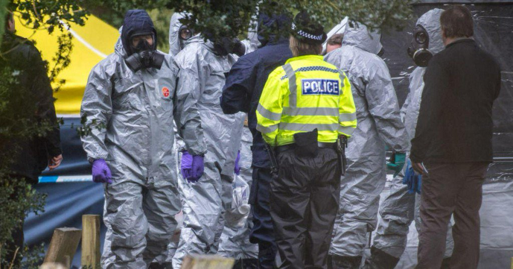 Cops reportedly identify suspects in U.K. Russian ex-spy novichok poisoning https://t.co/FvnBCLR27O