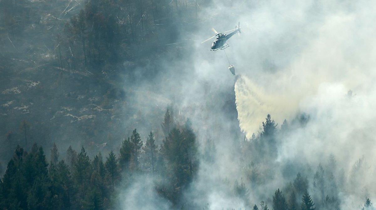 Große Waldbrände in Schweden außer Kontrolle https://t.co/76hvusohrQ