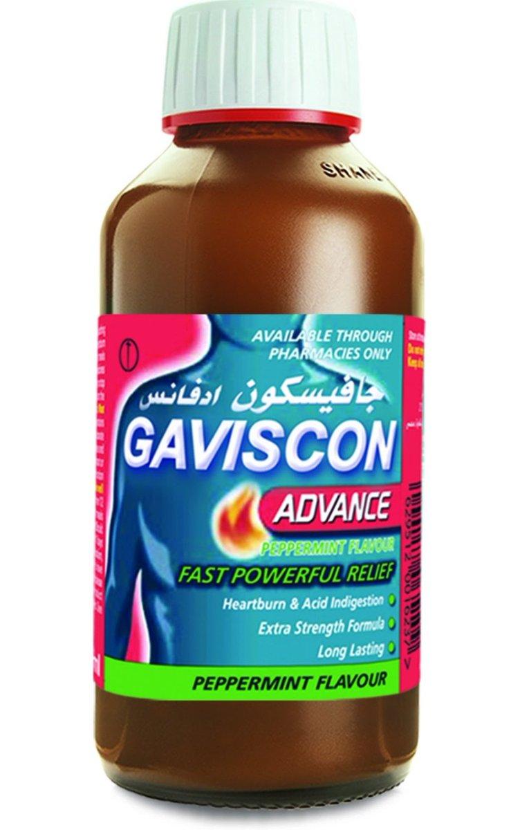 رود العقاد در توییتر دواء Gaviscon Advance يستخدم للحموضة وعسر الهضم يعمل على تشكيل طبقة حماية أعلى المعدة فيمنع تسرب الحمض المعدي ويخفف أعراض الحرقة يعمل خلال دقائق ويستمر ل4ساعات ي رج ويؤخذ