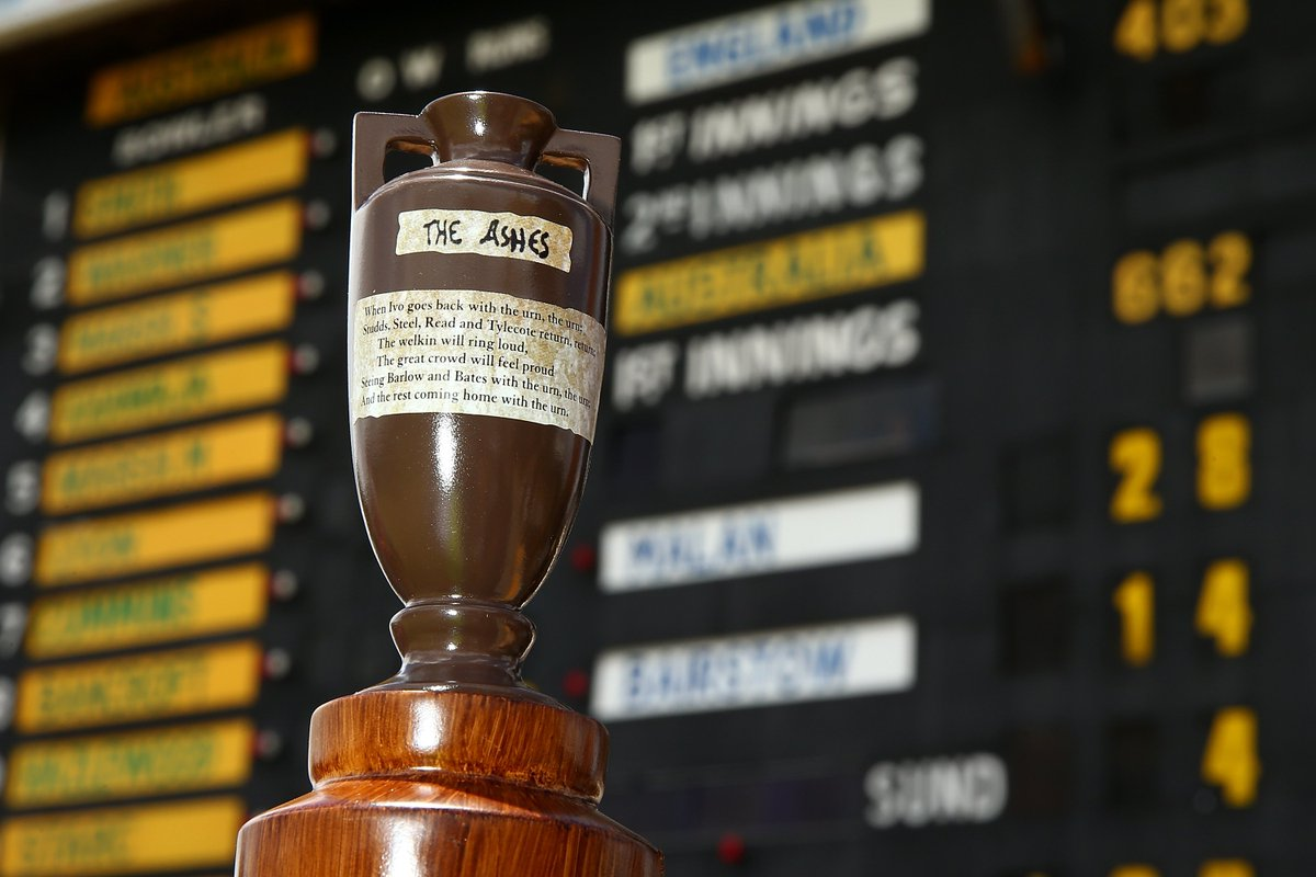 ASHES TESTS 2019 #ENGvAUS @WarwickshireCCC (August 1-5) @HomeOfCricket (August 14-18) @YorkshireCCC (August 22-26) @lancscricket (September 4-8) @SurreyCricket (September 12-16) @EnglandCricket Test v @IrelandCricket to be played at @HomeOfCricket from July 24-27. #ENGvIRE