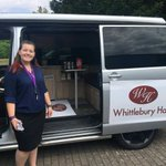 It was great for Theresa @HallWhittlebury to stop by yesterday and show us their potential meeting room on wheels! Thank you for the quick catch up and also for the #IceCream #eventprofs #meetingroom #portablemeeting #meetingroomonwheels #venuefinding #unique #flexible #inspiring