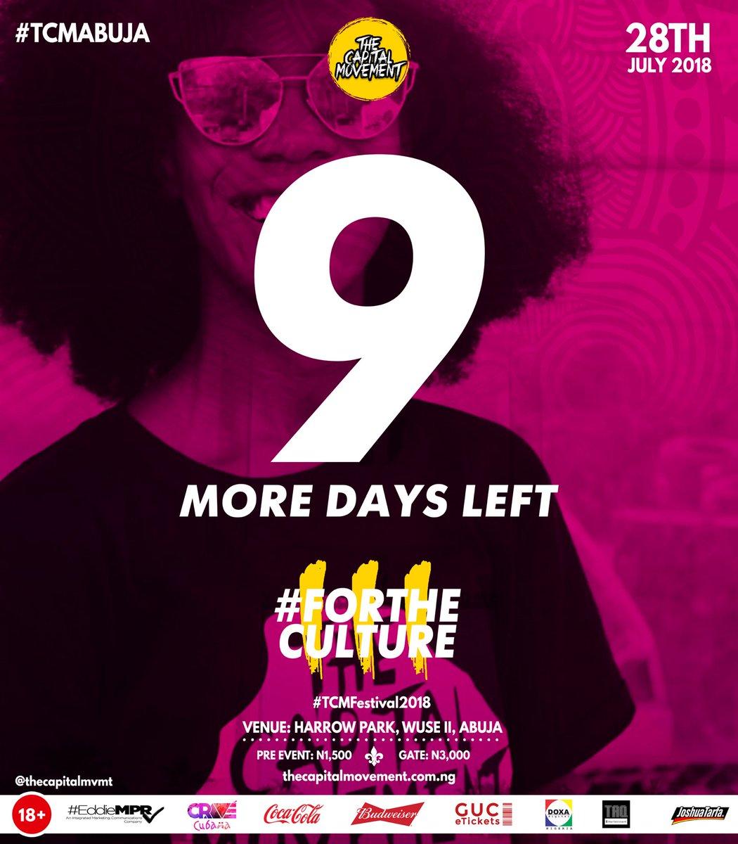9 More Days...   #TCMfestival #ForTheCulture #TCM