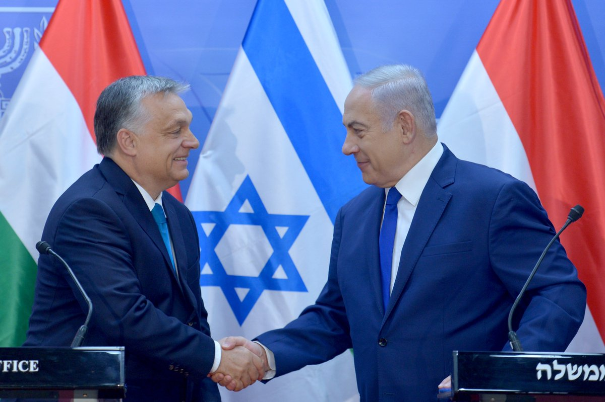 PM Netanyahu: This is a reciprocal visit to my wonderful visit to Hungary. It was magnificent. Very impressive seeing your country, the great development that is taking place but also seeing the things that are so evocative to the history of our people.