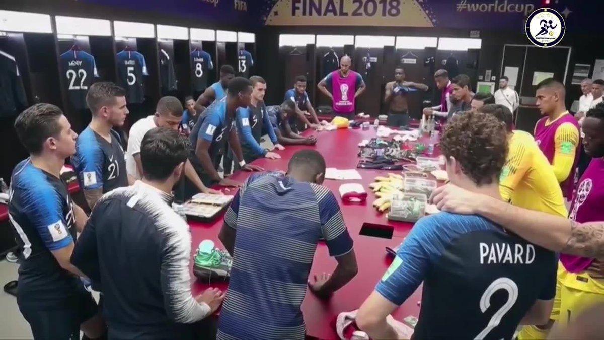Il vibrante discorso di Pogba ai giocatori della Francia prima della finale mondiale - https://t.co/7atdAl645c #blogsicilianotizie #todaysport