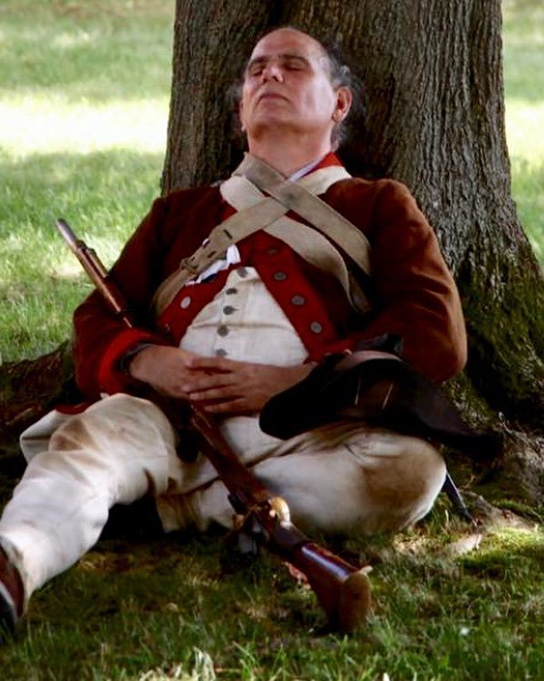 A day of rest before the 2nd mass goes to Fort Ticonderoga this weekend. #reenactment #patriots #revolutionarywar #sleep https://t.co/BQwAzb8kr6