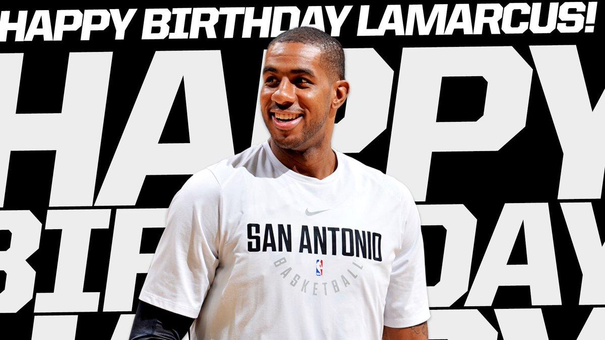 Happy Birthday, @aldridge_12! #SpursFamily