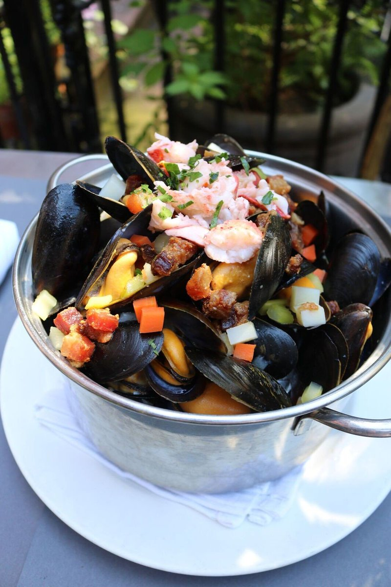 Flex Mussels On Twitter Maine Lobster Smoked Bacon Chowder And