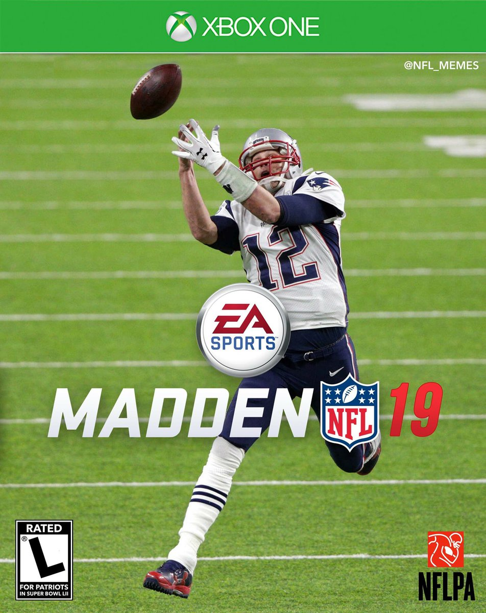 Still think this would have been a better cover for Madden 19 but ok...