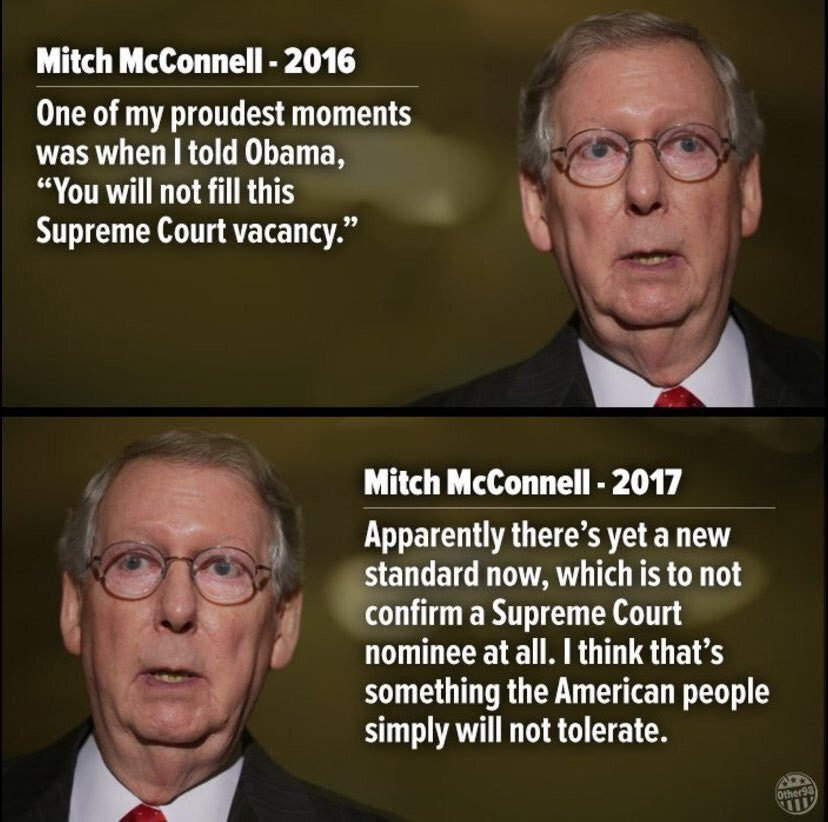 @GOP Funny how you want  'respect ' and  'dignity ' when you never showed any....   The @GOP  is the party of hypocrisy 😂😂😂😂 http